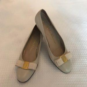 Salvatore Ferragamo Classic Bow Heels